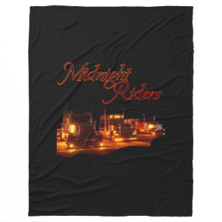 Midnight Riders Fleece Blanket