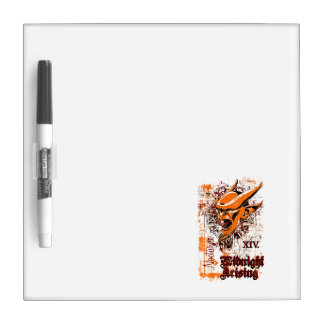midnight rising affected design dry erase whiteboards