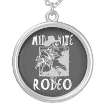 Midnight Rodeo 2nt Silver Plated Necklace