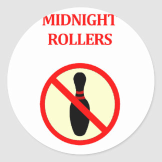 Midnight Rollers Classic Round Sticker