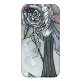 Midnight Rose Fairy Fantasy Art Molly Harrison Case For iPhone 4