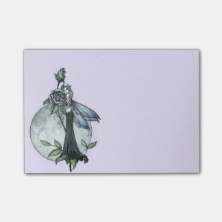 Midnight Rose Fairy Post-it® Notes
