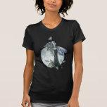 Midnight Rose Gothic Fairy Moon T-shirt