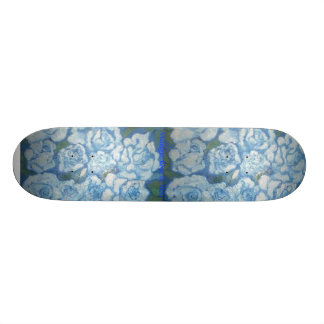 Midnight Rose Skateboard by NJoy
