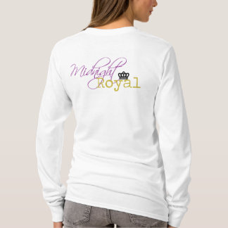Midnight Royal Logo Hoddie - White T-Shirt