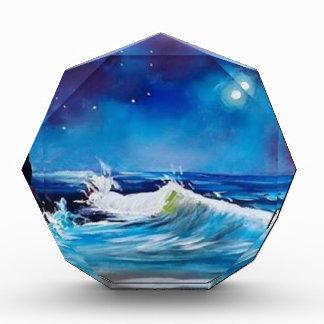 Midnight Sea Acrylic Award