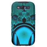 Midnight Skullcap Fractal Galaxy S3 Cover