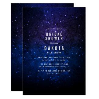 Midnight Sky & Shining Stars Galaxy Bridal Shower Card