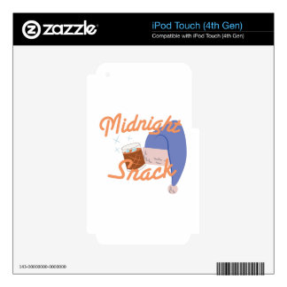 Midnight Snack iPod Touch 4G Skin