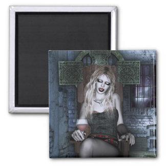 Midnight Snack Vampire Gothic Girl Magnet