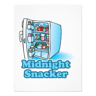 midnight snacker open fridge custom announcement