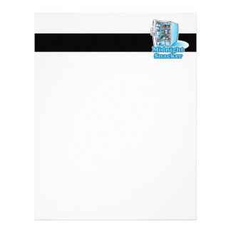 midnight snacker open fridge letterhead