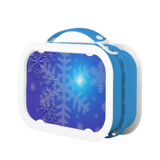 Midnight Snowflakes Lunchboxes