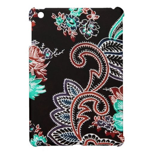 midnight spice pattern ipad mini case