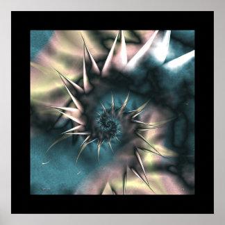 Midnight-Spiral #5 - sleepwalk Poster