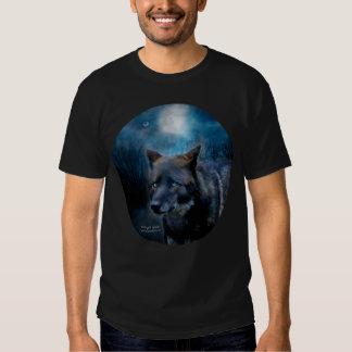 Midnight Spirit - Wolf Art T-Shirt