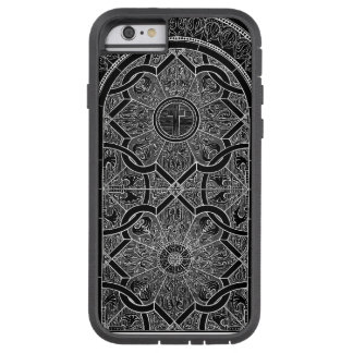 Midnight Stained Glass Black Tough Xtreme iPhone 6 Case