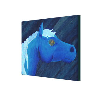 Midnight Stallion,  by Charli Windsor Canvas Print