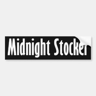 Midnight Stocker - Funny Stuff Bumper Sticker