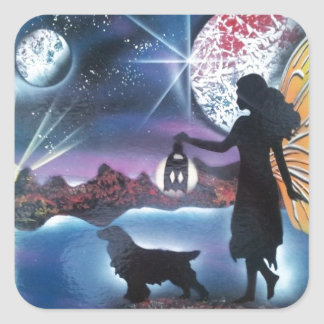 Midnight Stroll Sticker
