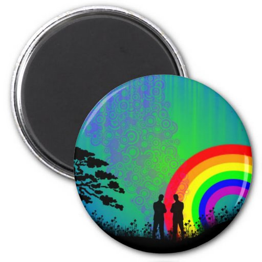 Midnight Summer Dream 2 Inch Round Magnet