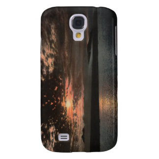 Midnight Sun at Bellsund, Svalbard, Norway Samsung Galaxy S4 Case