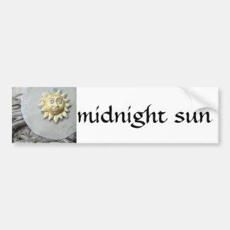 Midnight Sun - collage Car Bumper Sticker