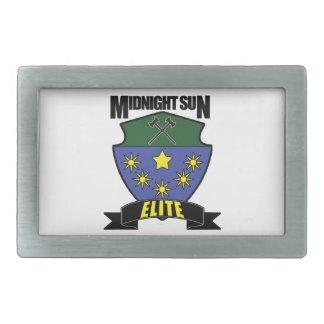 Midnight Sun Elite Rectangular Belt Buckle