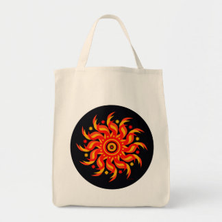 Midnight Sun Grocery Tote