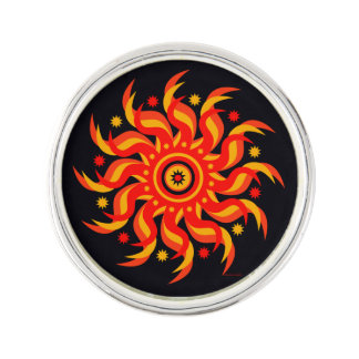 """Midnight Sun"" Lapel Pin"