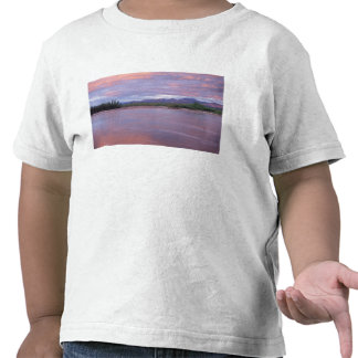 midnight sun over the MacKenzie River, off the T Shirt
