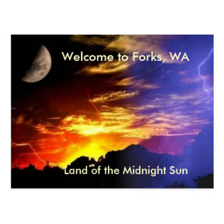 Midnight Sun Postcard