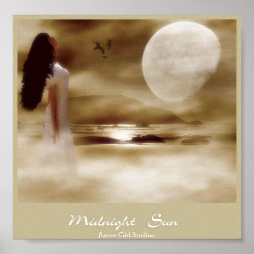 Midnight Sun Print