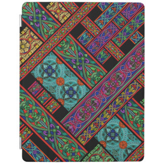 Midnight Sun Stained Glass iPad Cover