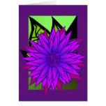 midnight sunflower card
