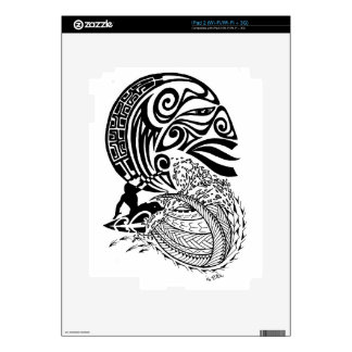 Midnight Surf Decal For The iPad 2