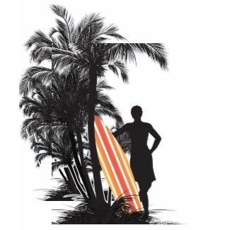 midnight surfer tshirt shirt