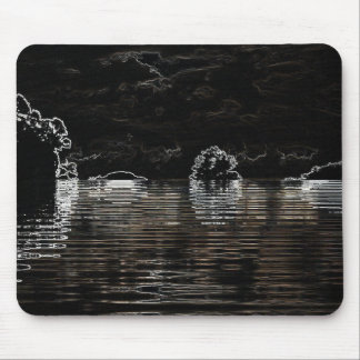 MIDNIGHT SUSNET MOUSE PAD