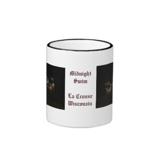Midnight Swim Ringer Coffee Mug