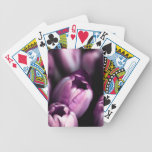 Midnight Tulips Playing Cards