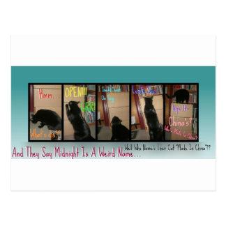 Midnight V.S. China Post Cards