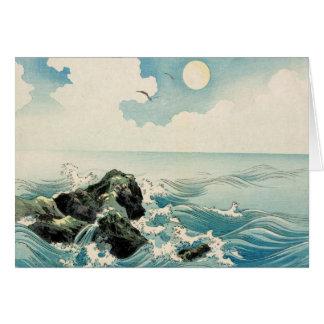 Midnight Waves Card
