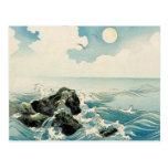 Midnight Waves Postcard
