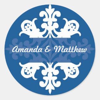 Midnight  Wedding Stickers