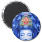 Midnight Zen Meditation Kuan Yin Magnet