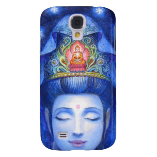 Midnight Zen Meditation Kuan Yin Samsung Galaxy S4 Case