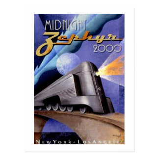 Midnight Zephyr Postcard