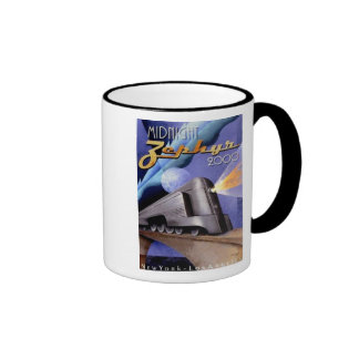 Midnight Zephyr Ringer Mug