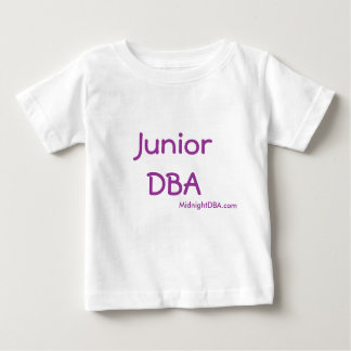 MidnightDBA: Junior DBA Baby T-Shirt