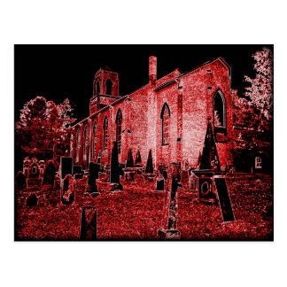 Midnights Graveyard postcard